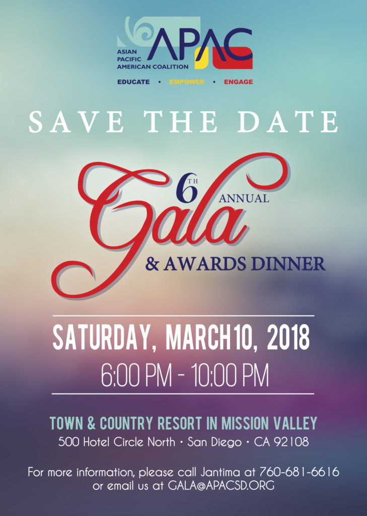 apac annual gala awards dinner save the date asian pacific